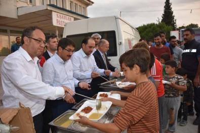 AK Partili Baybatur Ve Başkan Çelik Selimşahlar İftarına Katıldı
