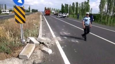 Aksaray'da Otomobil Devrildi Açıklaması 4 Yaralı