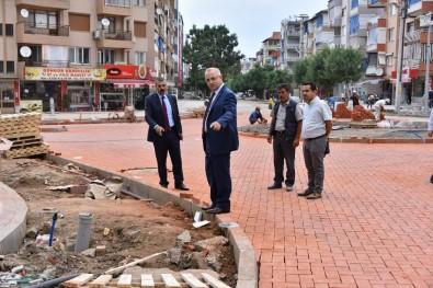 Atatürk Caddesi Modern Görünüme Kavuşuyor