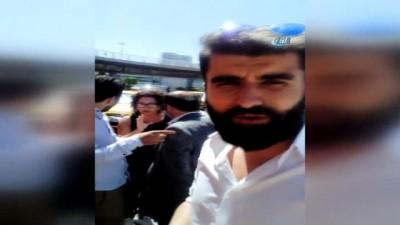 Atatürk Havalimanı'nda Uber Ve Ticari Taksi Sürücüsü Arasında Tehlikeli Gerginlik