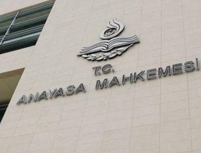 AYM CHP'nin teklifini reddetti