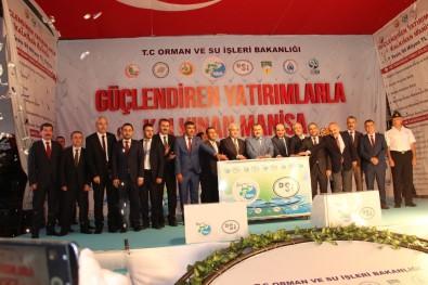 Bakan Eroğlu'nun Katıldığı Törende Yağmur Sürprizi