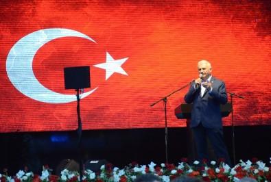 Başbakan Yıldırım Açıklaması  'CHP Adayı Boyundan Büyük Konuşuyor'