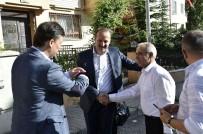 FATİH ŞAHİN - Başkan Akgül'den Vatandaşlara Ziyaret