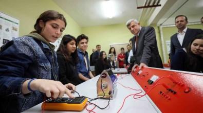 Başkan Karaosmanoğlu, Kimya, Fizik Ve Biyoloji Laboratuvarlarının Açtı