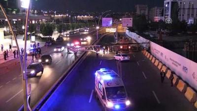 Başkentte Metro İnşaatında Vinç Kazası