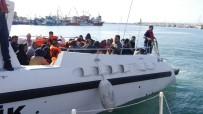KUZEY EGE - Çanakkale'de 77 Kaçak Göçmen Yakalandı