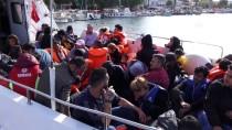 KUZEY EGE - Çanakkale'de 77 Yabancı Uyruklu Yakalandı