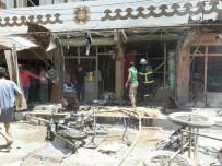 SURİYE ORDUSU - Cerablus'ta Bomba Yüklü Motosiklet Patlatıldı Açıklaması 4 Ölü