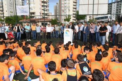 Çukurova Belediyesi Yaz Futbol Okuluna Yoğun İlgi
