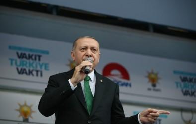 Cumhurbaşkanı Erdoğan Açıklaması 'Onlar Laf Üretir Biz İcraat Üretiriz'