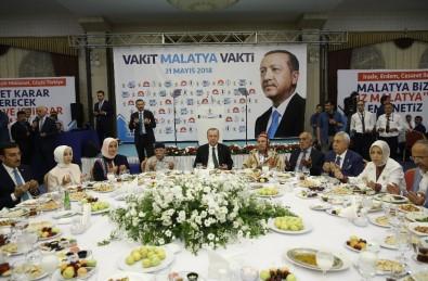 Cumhurbaşkanı Erdoğan, Malatya'da İftara Katıldı