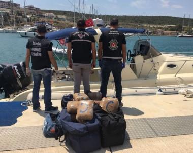 Denizde Film Gibi Uyuşturucu Operasyonu