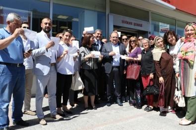 Edirne'de Cumhurbaşkanı Erdoğan'a Sevgi Seli