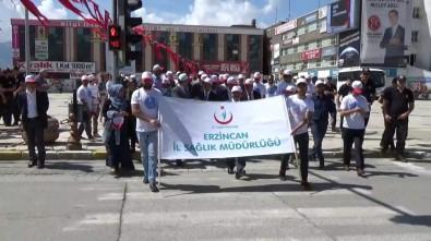 Erzincan'da Farkındalık Oluşturmak İçin Yürüdüler
