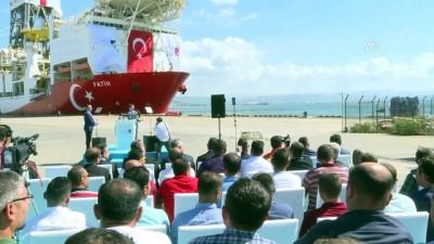 Fatih Sondaj Gemisi, Akdeniz'e Doğru Yola Çıktı