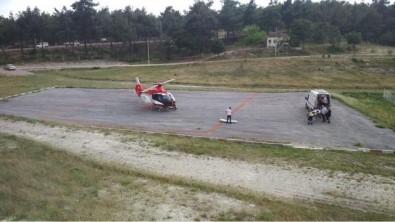Gördes'te Helikopter Ambulans 10 Günde 3 Hayat Kurtardı