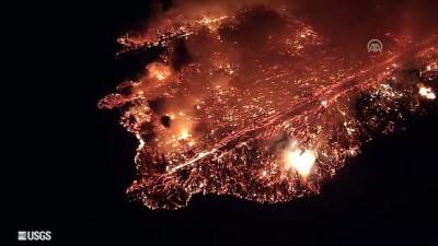 Hawaii'deki Kilauea Yanardağı'nın Faaliyete Geçmesi