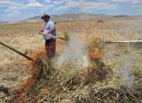 Kahramanmaraş'ta Firik Buğdayı Hasadı Başladı