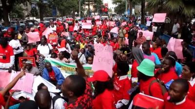 Kenya'da Yolsuzluk Protestosu