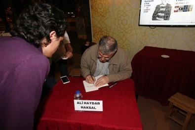 Kitap Sokağı'nda Yazar Ali Haydar Haksal Okurlarıyla Buluştu