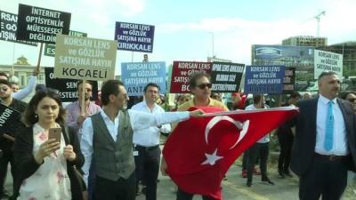 'Korsan Lens Satışının Engellenmesi' İçin İstanbul'dan Ankara'ya Yürüdü