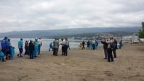 Küçük Kumla'da Sahil Temizliği