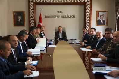 Maliye Bakanı Naci Ağbal, Bayburt'ta Kamu Hizmetleri Ve Yatırımları Değerlendirme Toplantısına Katıldı