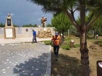 EVRENSEKI - Manavgat Şehitler Ormanına Bakım Yapıldı