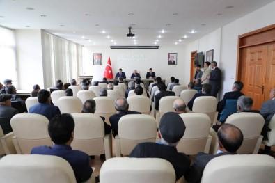 Merkez Köy Muhtarlarıyla 'Seçim Güvenlik Toplantısı' Yapıldı