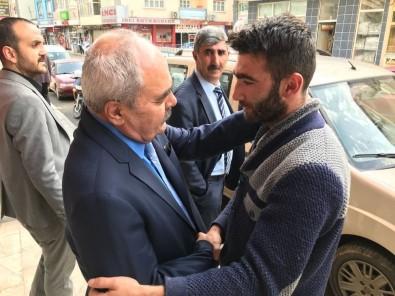 MHP'li Adaylara Şenkaya Ve Oltu'da Sevgi Seli