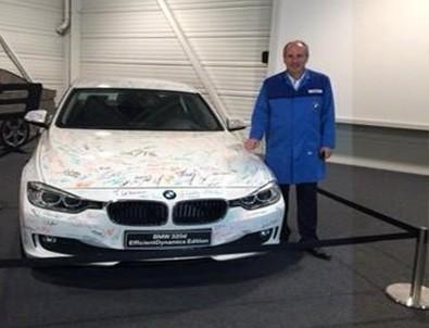 Muharrem İnce'nin BMW fabrikasında o fotoğrafı ortaya çıktı