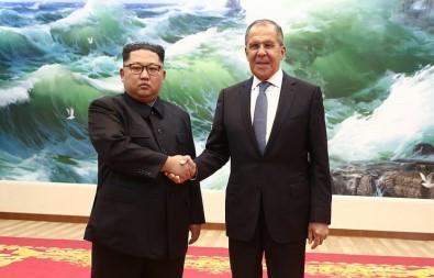 Rusya Dışişleri Bakanı Lavrov, Kuzey Kore Lideri İle Görüştü