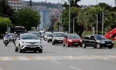 Samsun'da Motorlu Taşıt Sayısı Bir Yılda 19 Bin 633 Arttı