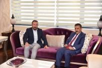OSMAN KAYMAK - Samsun Valisi Kaymak'tan Başkan Doğan'a Ziyaret