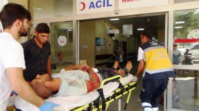 Şanlıurfa'da Motosiklet Kazası Açıklaması 2 Yaralı
