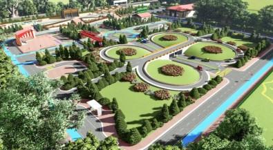 Şanlıurfa'da Türkiye'nin En Büyük Çocuk Trafik Parkı Yapılıyor