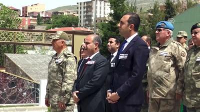 Şırnak'ta Şehit 13 Asker İçin Anma