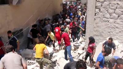 Suriye'nin Kuzeyinde Patlamalar Meydana Geldi