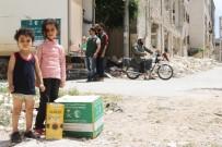 LAZKİYE - Suriyeli Ailelere Ramazan Yardımı