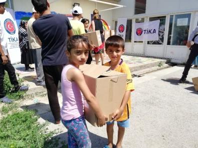 TİKA'dan Sırbistan'da İhtiyaç Sahiplerine Gıda Yardımı