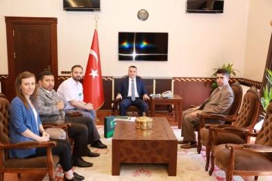 Vali Osman Bilgin, Kırklareli Yeşilay Şubesini Ağırladı