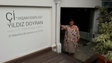 'Yaşam Enerjisi' Sergisi Kıbrıslı Sanatseverlerle Buluştu