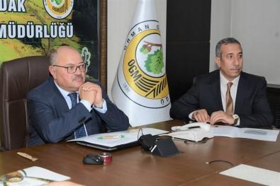 Zonguldak'ta Yangınla Mücadele Toplantısı Düzenlendi