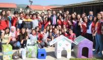 NURULLAH CAHAN - 23 Nisan Ortaokulu'ndan Hayvan Barınağına Ziyaret