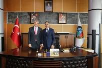 ZIYA CEVHERLI - Aday Adayları Başkan Alemdar'a Misafir Oldu