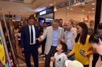 SERGİ AÇILIŞI - Başkan Bozkurt, 'Bir Başka Yüzler' Resim Sergisinin Açılışına Katıldı