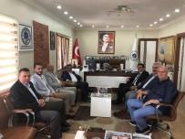 SELIM YAĞCı - Eski Belediye Başkanı Yağcı'dan Başkan Yalçın'a Ziyaret