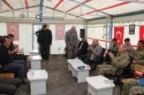 KOMANDO - Kars'ta Şehit Astsubay İçin Taziye Çadırı Kuruldu