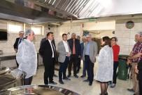 KAZANCı - Kaymakam Karataş'tan Hacı Fatma Bodur Mesleki Teknik Anadolu Lisesi Yiyecek İçecek Bölümüne Ziyaret